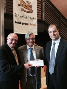 Henderson Chamber donates $4,975 to Nevada State College