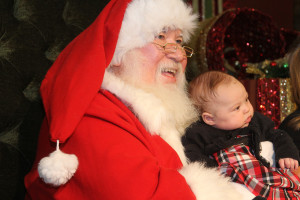 Santa Claus arrives at Galleria at Sunset Nov. 7