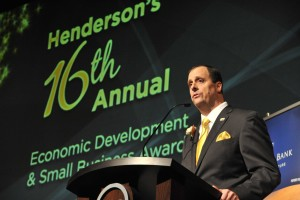 Henderson Chamber president-CEO Scott Muelrath
