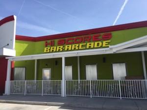 Hi Scores Bar-Arcade