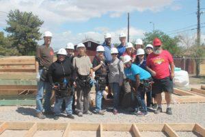 Henderson Chamber volunteers for Habitat for Humanity April 15, 16 during National Volunteer Week