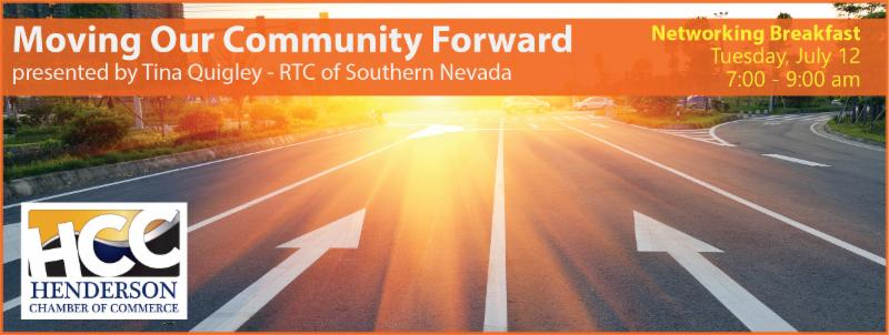 """Moving Our Community Forward"