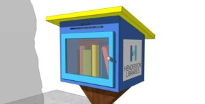 Leadership Henderson Class of 2016 creates Free Little Libraries, hosts ribbon cutting July 19