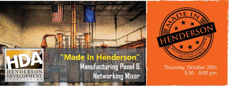 HDA hosts third annual 'Made in Henderson' panel Oct. 20