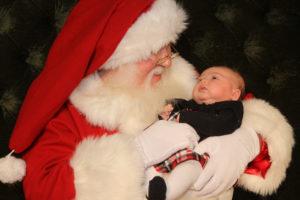 Santa Claus arrives at Galleria at Sunset Nov. 18