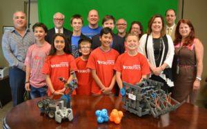 Henderson Chamber nurtures future STEM workforce, adopts local youth robotics teams